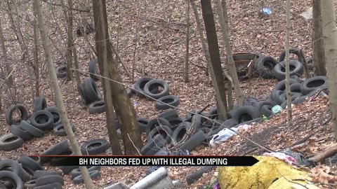 Benton Harbor neighbors fed up with illegal dumping